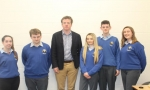 RTE journalist gives workshop in school
